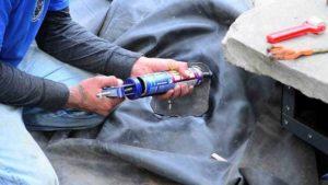 Lekke vijver repareren opsporen van het lek vijverhandboek for Vijverfolie plakken